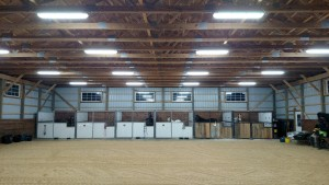 Horse Barn LED Light Project